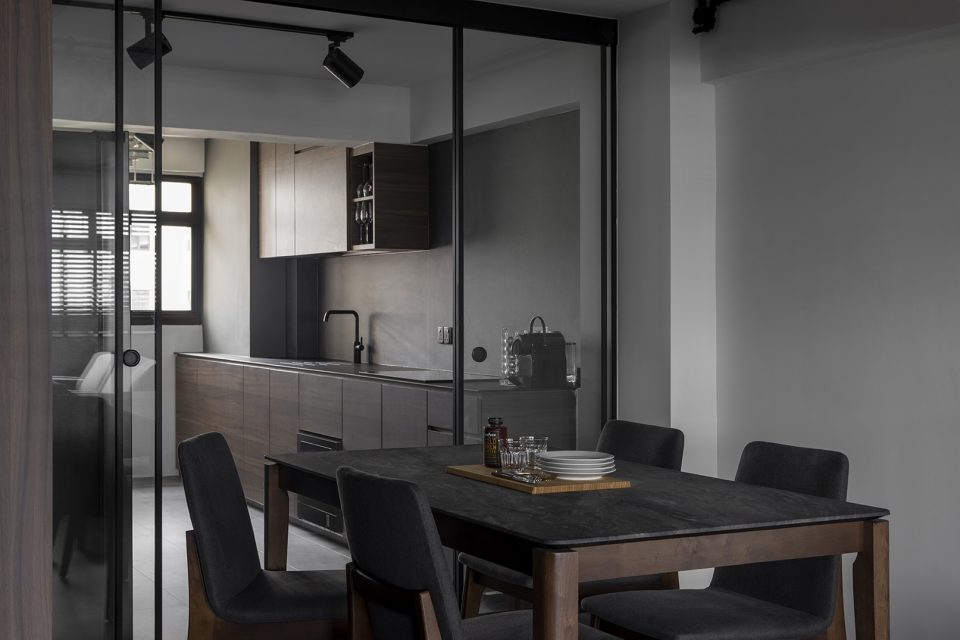 ascend design 18 Telok Blangah dining kitchen