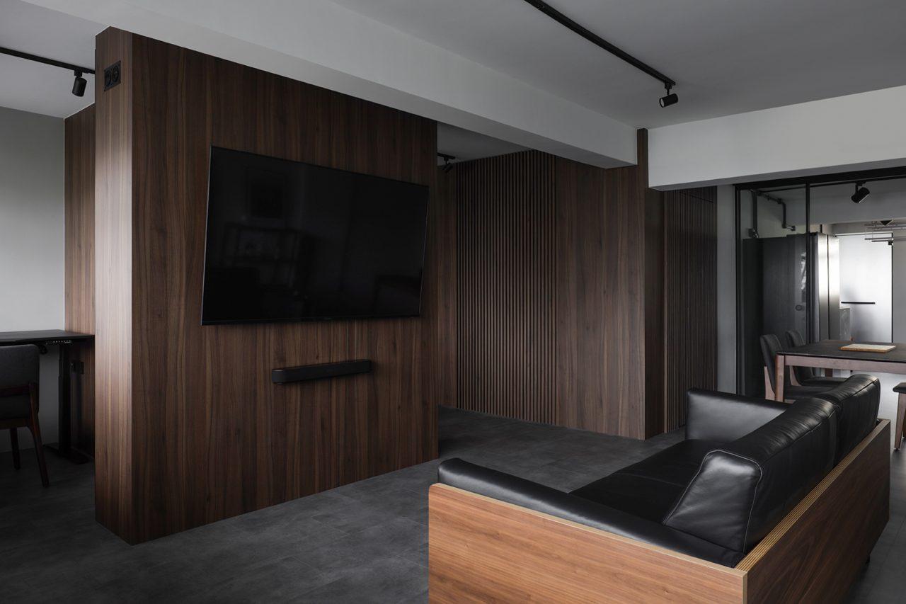 ascend design 18 Telok Blangah living room