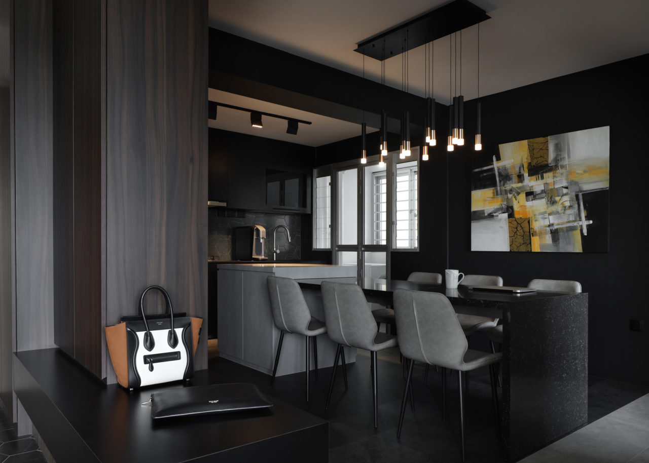ascend design Canberra Road dining and kitchen