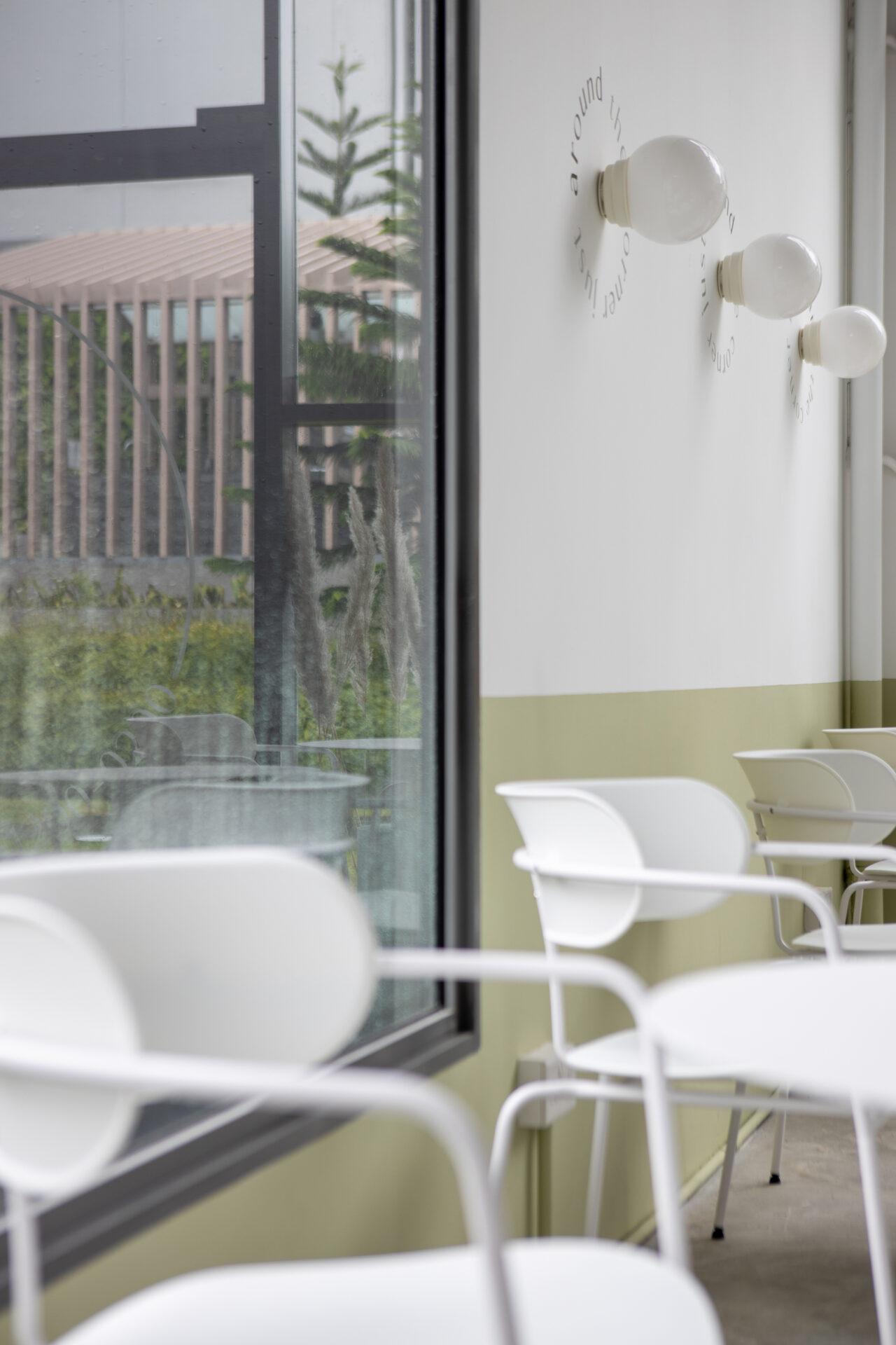 ascend design ice cream waffles cafe interior 3